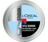 Loreal Paris Studio Line Style Rework fibrous modeling hair cream 150 ml