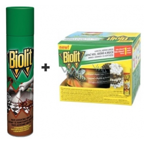 Biolit P Against crawling insects with disinfectant 400 ml + wasp, hornet and fly trap set 200 ml