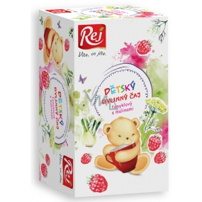 Rej Fennel with raspberries Herbal tea for children infusion bags 20 x 32 g