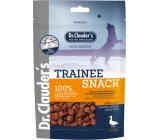 Dr. Clauders Trainee Snack Duck dried cubes meat supplementary food 100% meat for dogs 80 g