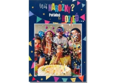 Albi Greeting Cards - Blowing Confetti