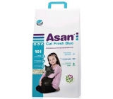 Asan Fresch Blue Bio litter non-perfumed litter for cats and ferrets 10l