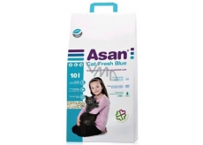 Asan Fresh Bio cat litter for cats and ferrets 10l l