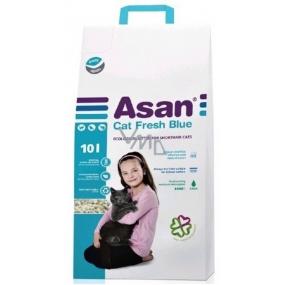 Asan Fresch Blue Bio litter non-perfumed litter for cats and ferrets 10l