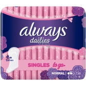 Always Dailies Singles To Go Normal 20pcs