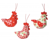 Cloth hen 5 cm for hanging 1 piece