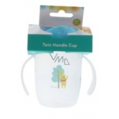 Disney Baby Winnie the Pooh Mug with two handles blue for children from 6 months
