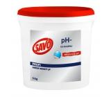 Savo pH- Decrease the pool pH by 5 kg