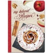 Ditipo My beloved recipes recipe book, cinnamon snail 17 x 24 cm