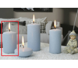Lima Ice pastel candle light blue cylinder 60 x 90 mm 1 piece