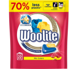 Woolite Mix Colors Keratin universal capsules for washing colored laundry, protection against loss of shape and maintaining the intensity of color 22 pieces