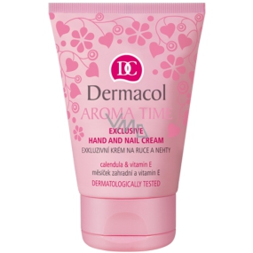Dermacol Aroma Time Exclusive hand and nail cream 50 ml
