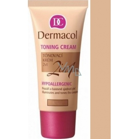 Dermacol Toning Cream 2v1 make-up Desert 30 ml