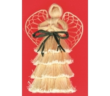 Angel with layered skirt 16 cm