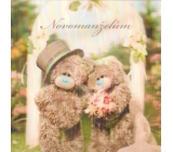 Me to You 3D Envelope Greeting Card Wedding teddy bears at the gate 15.5 x 15.5 cm