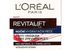 Loreal Revitalift Night Wrinkle + Moisturizing Night Cream 50 ml