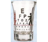 Nekupto Gifts with humor Humor glass shot Stop limit 0.04 l
