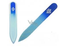 Blasé Blue G Pilník skleněný modrý 14 cm