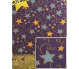 Nekupto Christmas wrapping paper Stars 2 x 0,7 m BVS 891 40