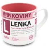 Nekupto Mugs Mug named Lenka 0.4 liters