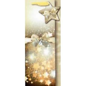 Nekupto Gift Paper Bag for Bottle 35 x 12 cm Christmas 1531 WILH