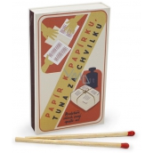 Nekupto Original matches in retro style Paper for paper, a ton in 45 pieces
