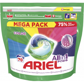 Ariel All in 1 Pods Color gel pads for colored laundry 70 pieces x 35 ml