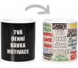 Albi Changing mug Christmas Your daily dose of motivation 310 ml