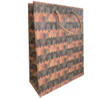 Nekupto Gift kraft bag 18.7 x 24.3 x 8 cm Colored arrows 621 KHM