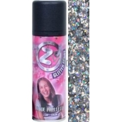 Zo Cool Glitter Spray glitters for hair and body Multi 125 ml