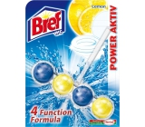 Bref Power Aktiv 4 Formula Lemon WC block 51g
