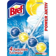 Bref Power Aktiv 4 Formula Lemon WC blok 51 g
