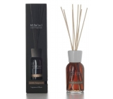 Millefiori Natural Sandalo Bergamotto - Santal wood and bergamot Diffuser 7 stalks 25 cm in smaller spaces lasts 5-6 weeks 100 ml