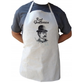 Bohemia Gifts & Cosmetics Apron with print Real Gentleman, length 75 cm