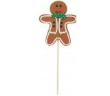 Gnocchi gingerbread 9 cm zel.motýlek + špejle