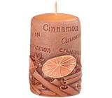 Emocio Cinnamon Cinnamon scented candle cylinder 50 x 80 mm