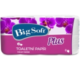 Big Soft Plus toilet paper white 2 ply 160 pieces 8 pieces