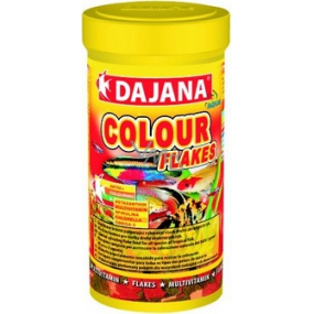 Dajana Color flake food for all fish species 100 ml