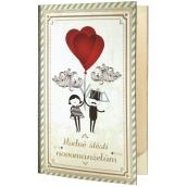 Bohemia Gifts Wedding shower gel 200 ml + oil bath 200 ml knika gift set