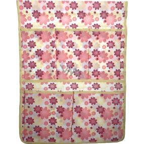 Pocket 668 pink and yellow flowers 6682