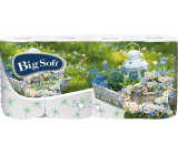 Big Soft Spring toilet paper with print 3 ply 8 pieces