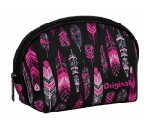 Albi original Oval pouch - Feather 21 cm × 14 cm × 8 cm