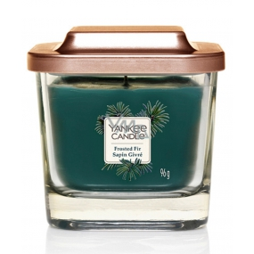 Yankee Candle Frosted Fir - Soy Fir Frosted Scented Candle Elevation Small Glass Small 1 Wick 96 g
