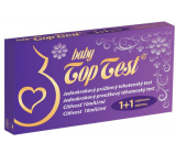 Top Test Baby Pregnancy test can be demonstrated from 5.day from fertilization striped 2 pieces