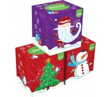 Kleenex Collection hygienic paper handkerchiefs 3 layers box 20 x 20 cm 56 pieces
