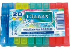 Clanax Big Clothes Pegs plastic 20 pieces