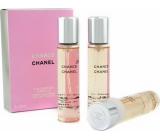 Chanel Chance Eau de Toilette Refill for Women 3 x 20 ml