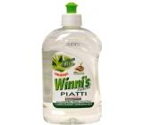 Winnis Eko Piatti Aloe Vera concentrated hypoallergenic detergent in a 500 ml container