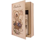 Bohemia Gifts Book Fairy tale about grandma - shower gel 250 ml + oil bath 200 ml (with a pleasant lavender scent), cosmetic set