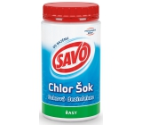 Savo Chlor Shock shock disinfection against algae in the pool 800 g